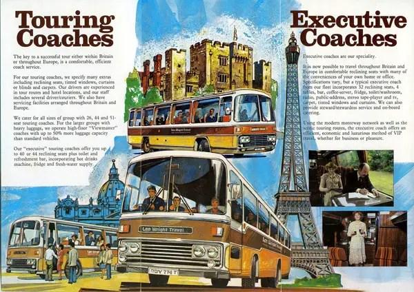 Len Wright Travel Brochure