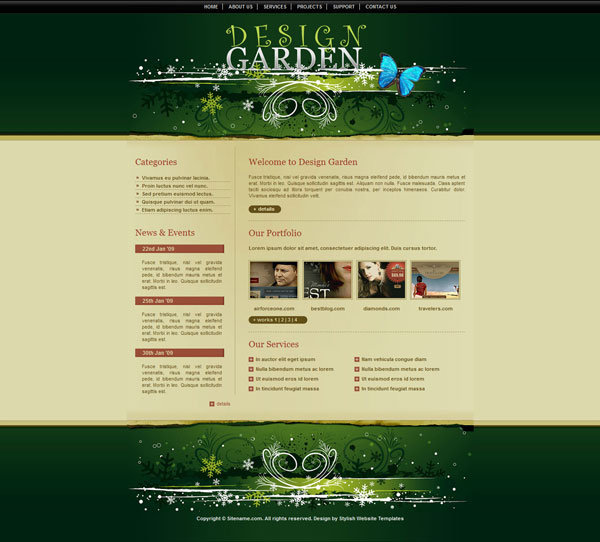 20 css for Arid garden design 7 little words