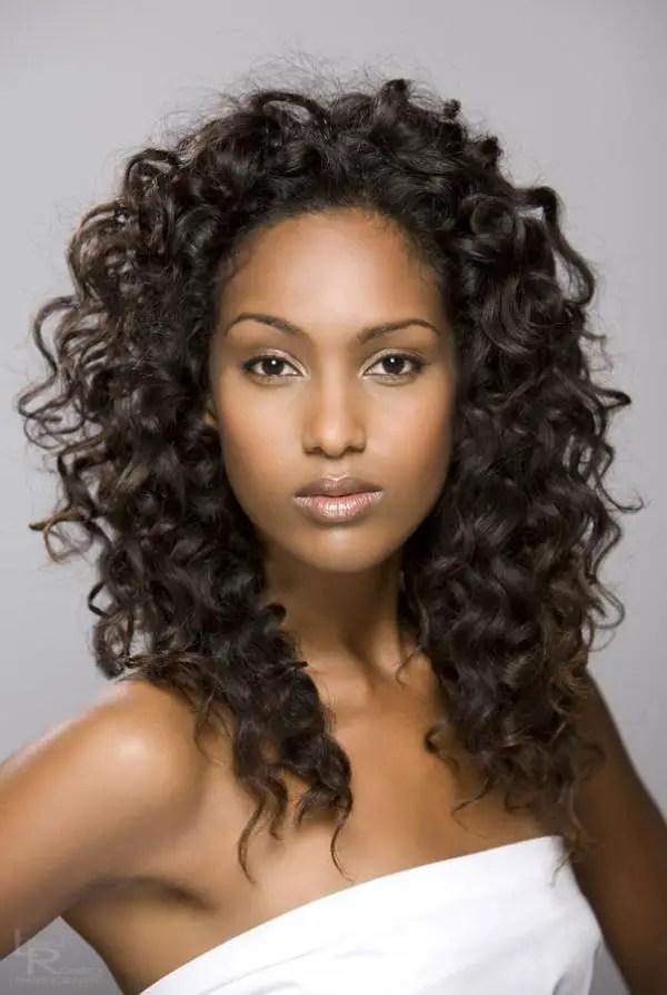 Light Brown Long Curly Hair