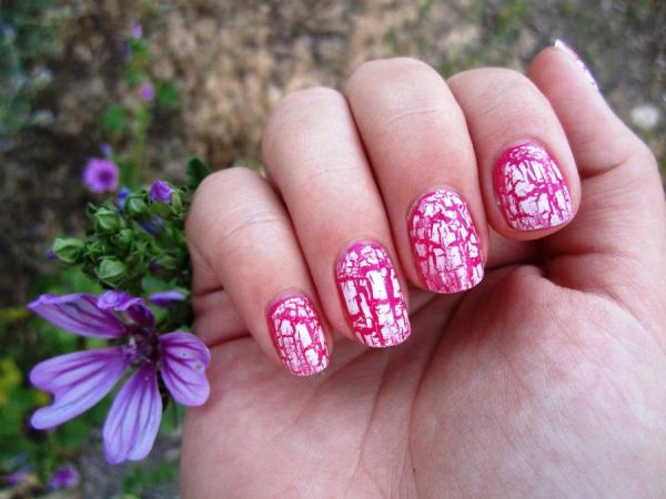 Nail Polish Flower Designs
