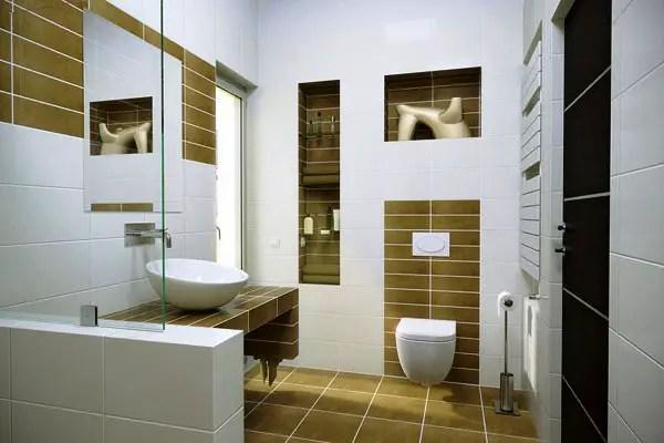 30 Terrific Small Bathroom Design Ideas - SloDive on Contemporary Small Bathroom Ideas  id=21141
