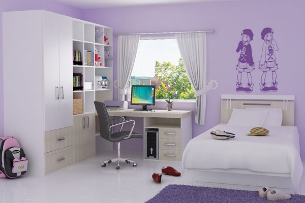 30 Awesome Small Bedroom Ideas - SloDive on Small Bedroom Ideas For Women  id=59871