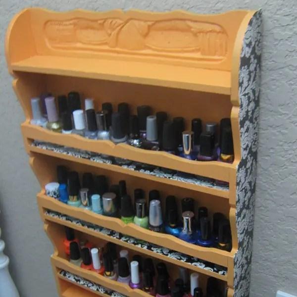 Cool Nail Polish Rack