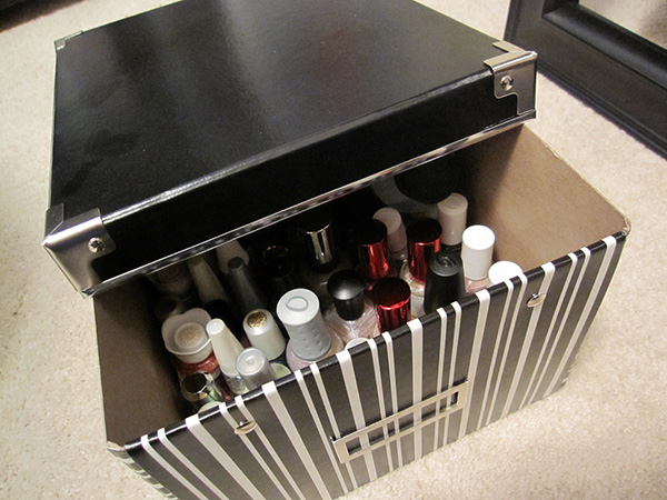 Nail Polish Storage Bins Best Image 2017