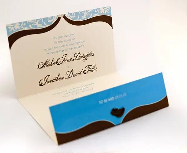 Foldable Invitation Template. wedding invitation designs folded ...