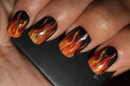 Harley Davidson Painted Nails 4k Pictures 4k Pictures Full Hq