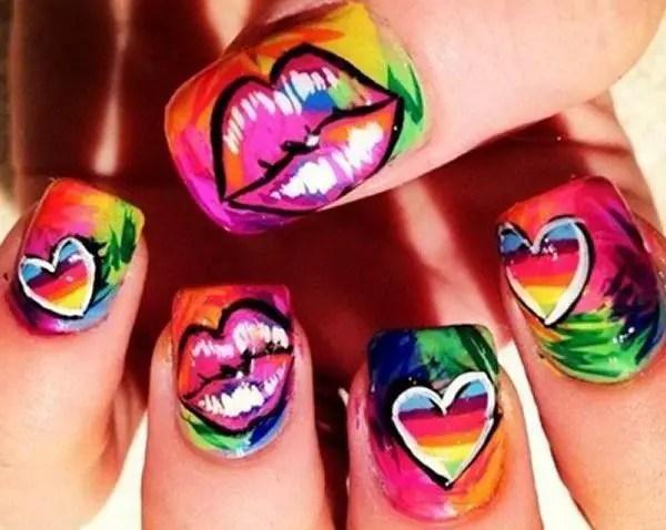 Art Draw Drawing Lips Nail Nails Y