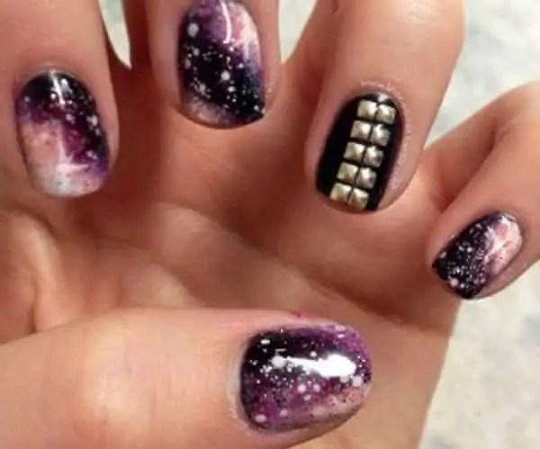 Studded Nail Design