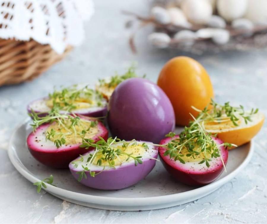 kolorowe jajka