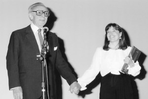 George Sidney and the Festival's co-founder, Mary Harris
