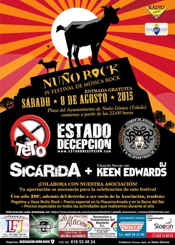 Cartel IV Festival Nuño Rock