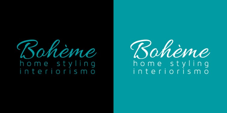 Logotipo Boheme Home Styling Interiorismo