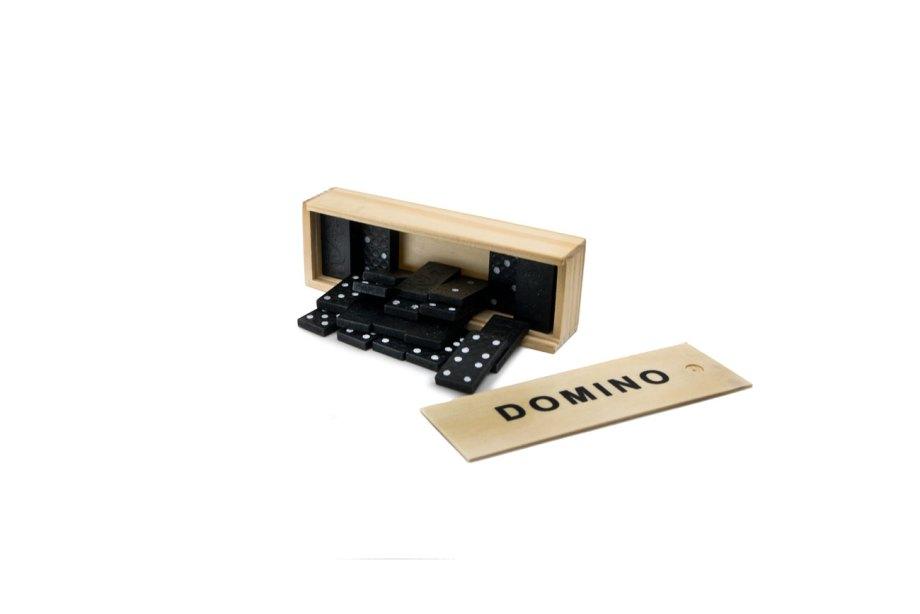 domino drvo drustvena igra kutija plocice