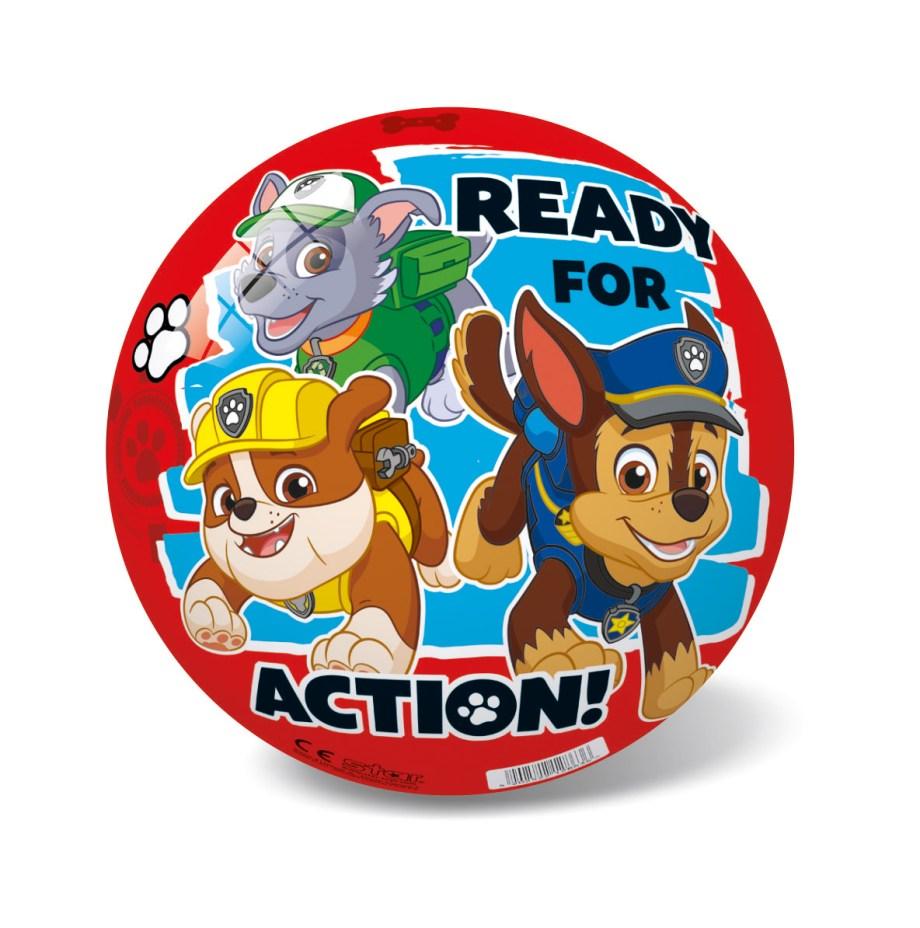 Lopta Pvc Psići u ophodnji, Lopta Paw Patrol Red cm veličine 23 cm. Lopta sa motivima popularnog crtića za djecu Psići u ophodnji.