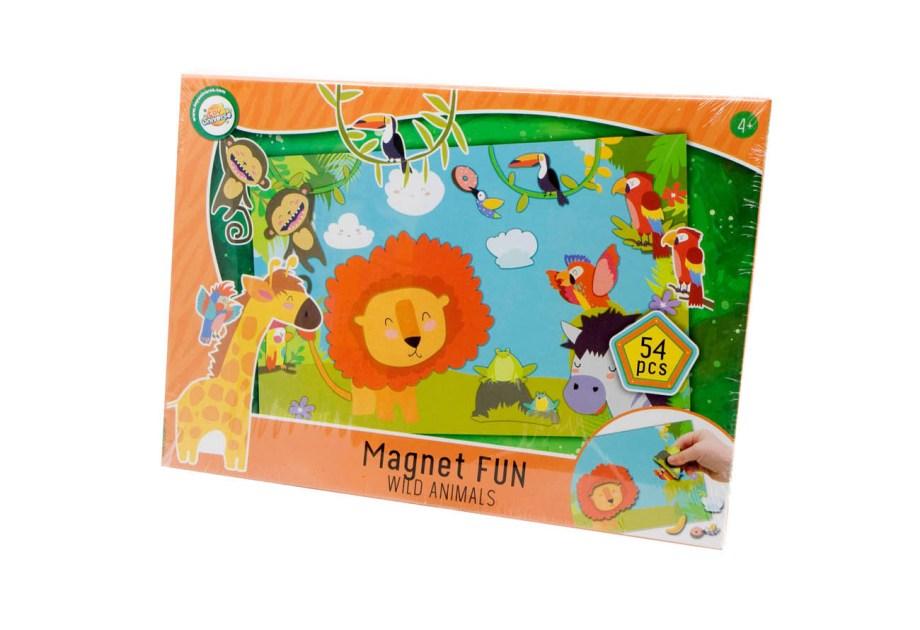 magnet fun igra wild animals