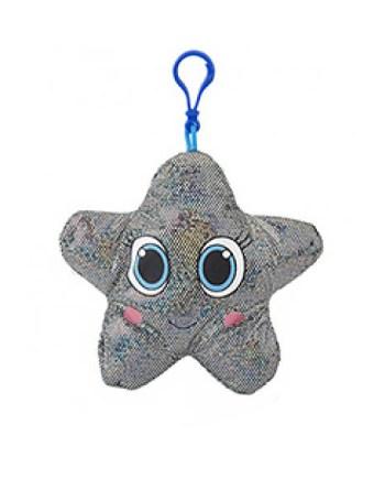 Plišana Morska Zvijezda na privjesku. Mekana i sjajna morska zvijezda veličine 14cm sa privjeskom 4,5cm.