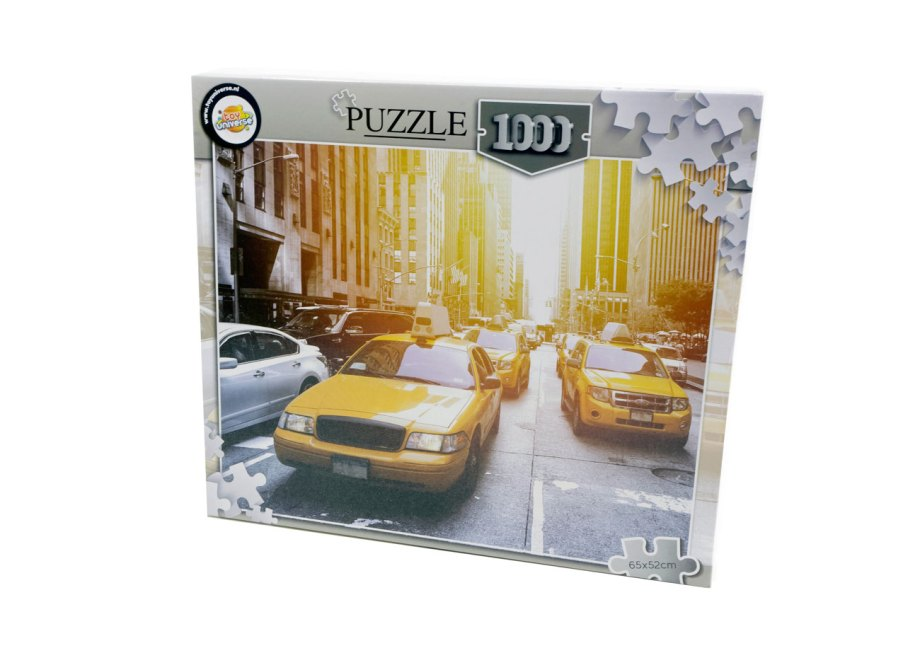 puzzle 1000pcs 65x52cm new york taxijpg