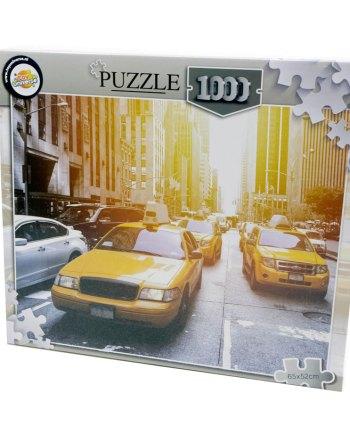 puzzle 1000pcs 65x52cm new york taxijpg
