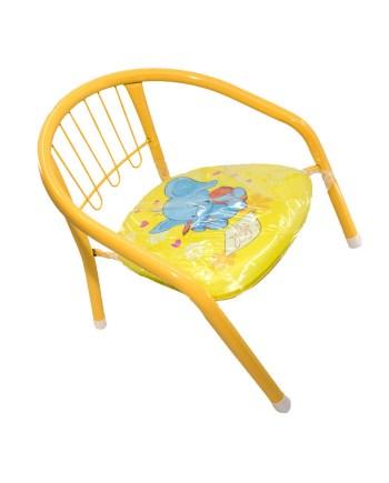 Dječja Stolica Zvučna Kiddie. Metalna stolica za dijete sa mekanim sjedištem koji zapišti jačim pritiskom.