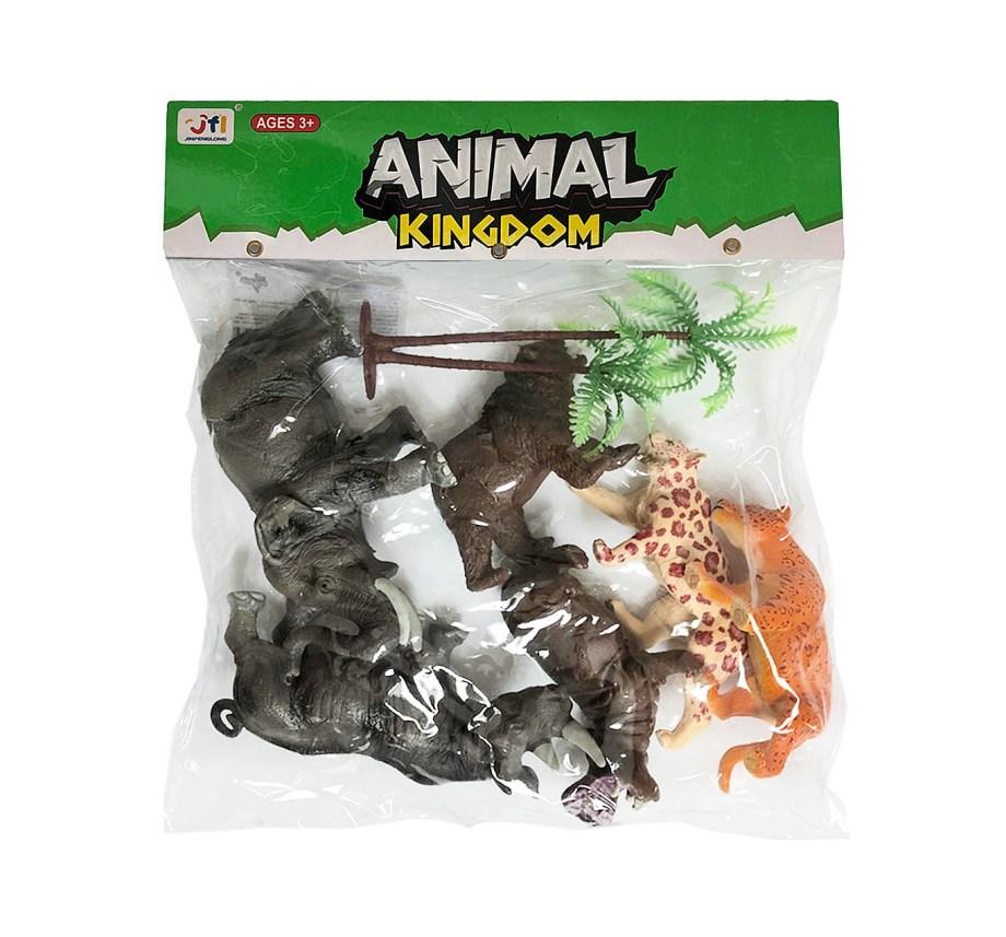 Divlje životinje vrećica 6/1, plastične divlje životinje u vrećici.