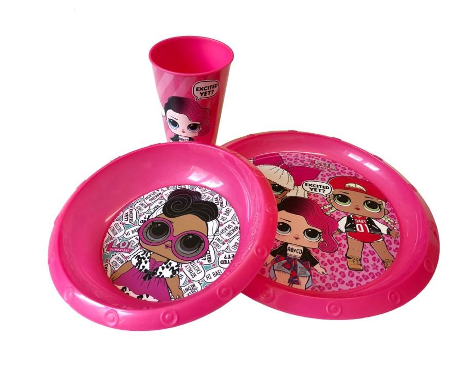 djecji-plasticni-set-za-jelo-i-pice-casa-tanjur-zdjela-LOL-box