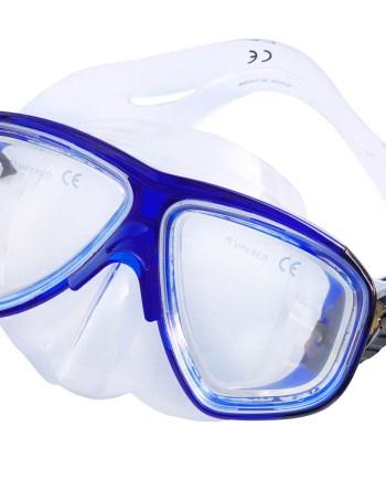 Dječja maska za ronjenje, Delfina 7-14 godina. Kvalitena maska od pvc-a i temperirano staklo za ronjenje i promatranje morskog dna.