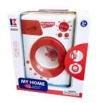 Dječja perilica rublja, Igračka veš mašina na baterije za djecu. Prekrasna igračka za male kućanske poslove.