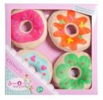 Pliš Krafne/Donuts, Plišani Kolači, Cronuts. Prekrasne krafne u 4 različita dizajna. Izrađene su od kvalitetnog i super mekanog pliša.