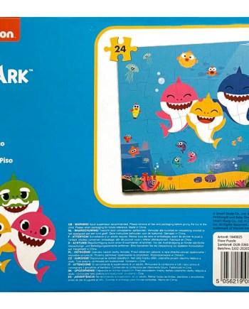 Podne puzzle Baby Shark, Velike puzzle 24kom. Uživajte u slaganju puzzle na simpatičnog Baby Sharka.