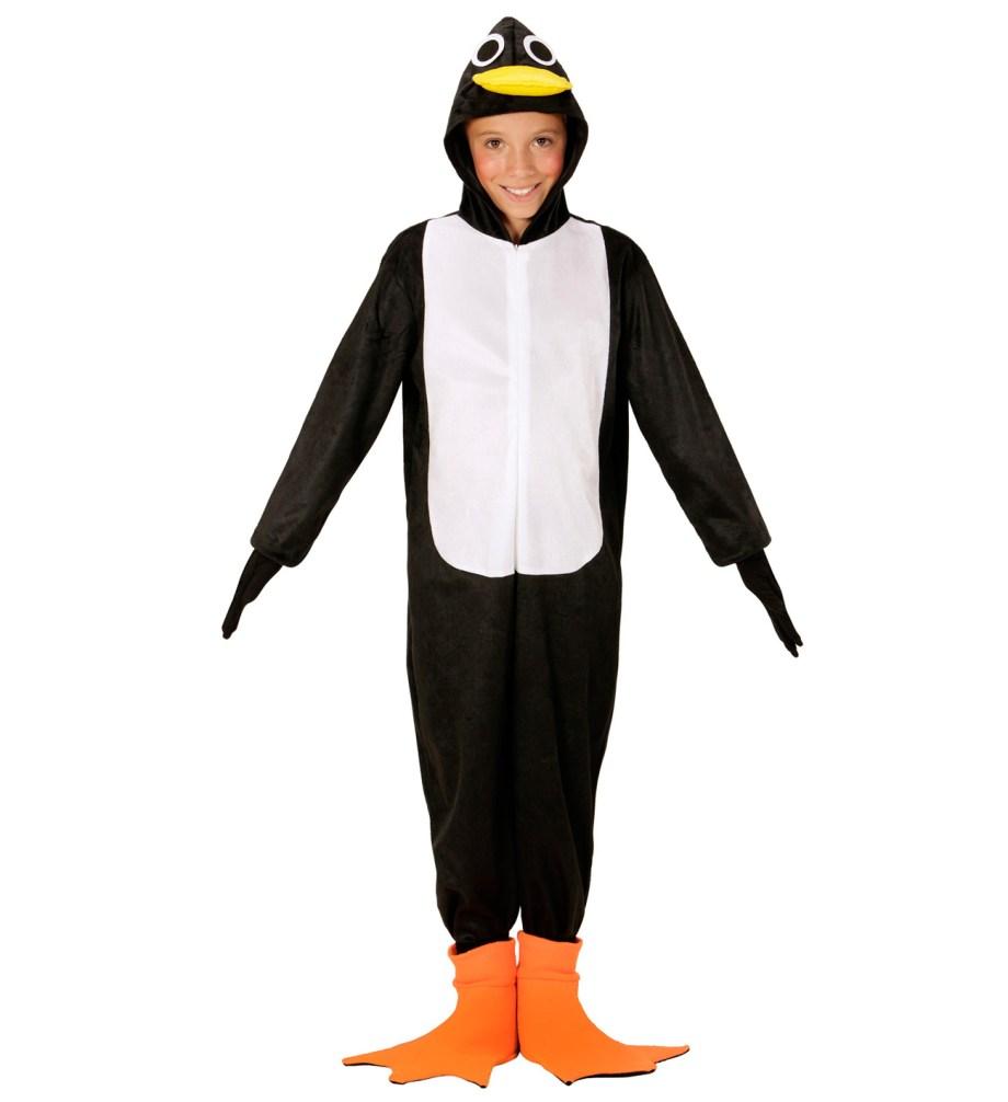 Dječji kostim Pingvin je kostim namijenjen djeci od 4 do 5 godina. Savršen je za igru, lude partije ili karnevalske povorke.