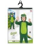Dječji kostim Zmaj je kostim namijenjen djeci od 3 do 4 godine. Savršen je za igru, lude partije ili karnevalske povorke.