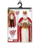 Kostim za odrasle Kralj, veličina M ili L je kostim namijenjen odraslima. Savršen je za lude partije, proslave Halloweena ili karnevalske povorke.