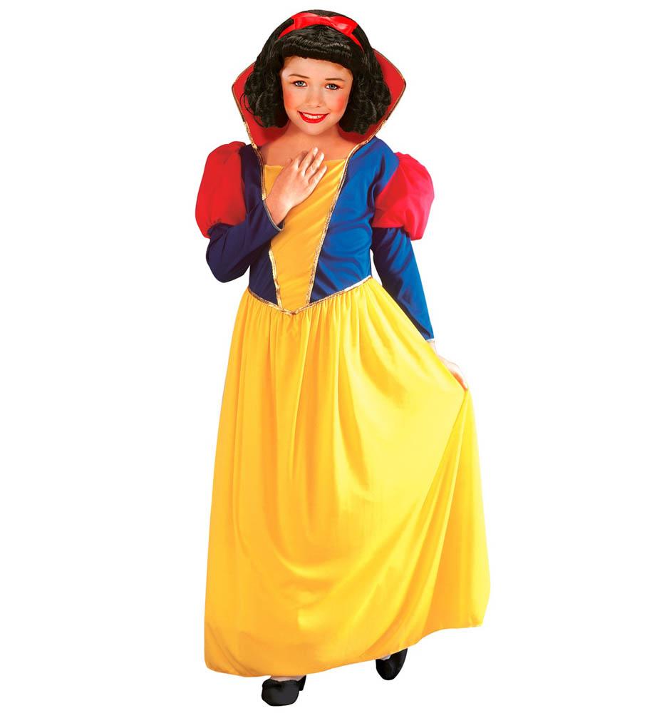 Kostim za Snjeguljicu, veličina 5-7 godina. Kostim je namjenjen djeci između 5-7 godina. Savršen je za lude partije, proslave Halloweena ili karnevalske povorke.
