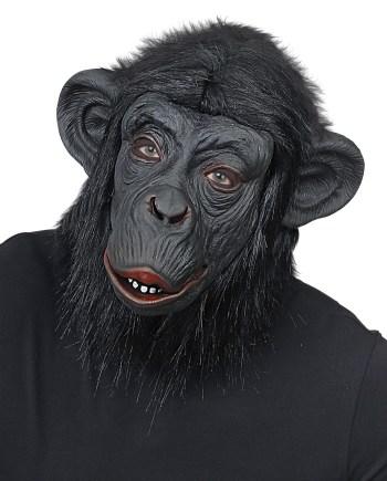 Maska karnevalska Čimpanza, maska za cijelu glavu je maska namijenjena odraslima. Savršena je za maskiranje, lude partije, proslave Halloweena ili karnevalske povorke.