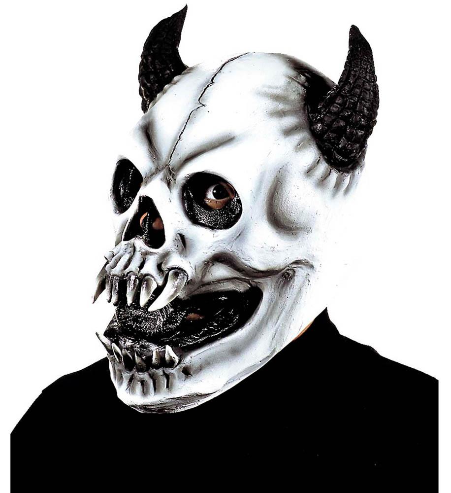 Maska za karneval Monster, gumena maska čudovište. Maska je izrađena od gume, dolazi u 5 različitih modela. Savršena je za lude partije, proslave Halloweena ili karnevalske povorke.