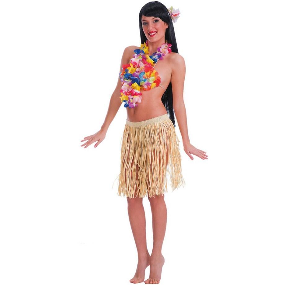 Karnevalska suknja Hawaii. Savršena je za lude partije, proslave Halloweena ili karnevalske povorke.