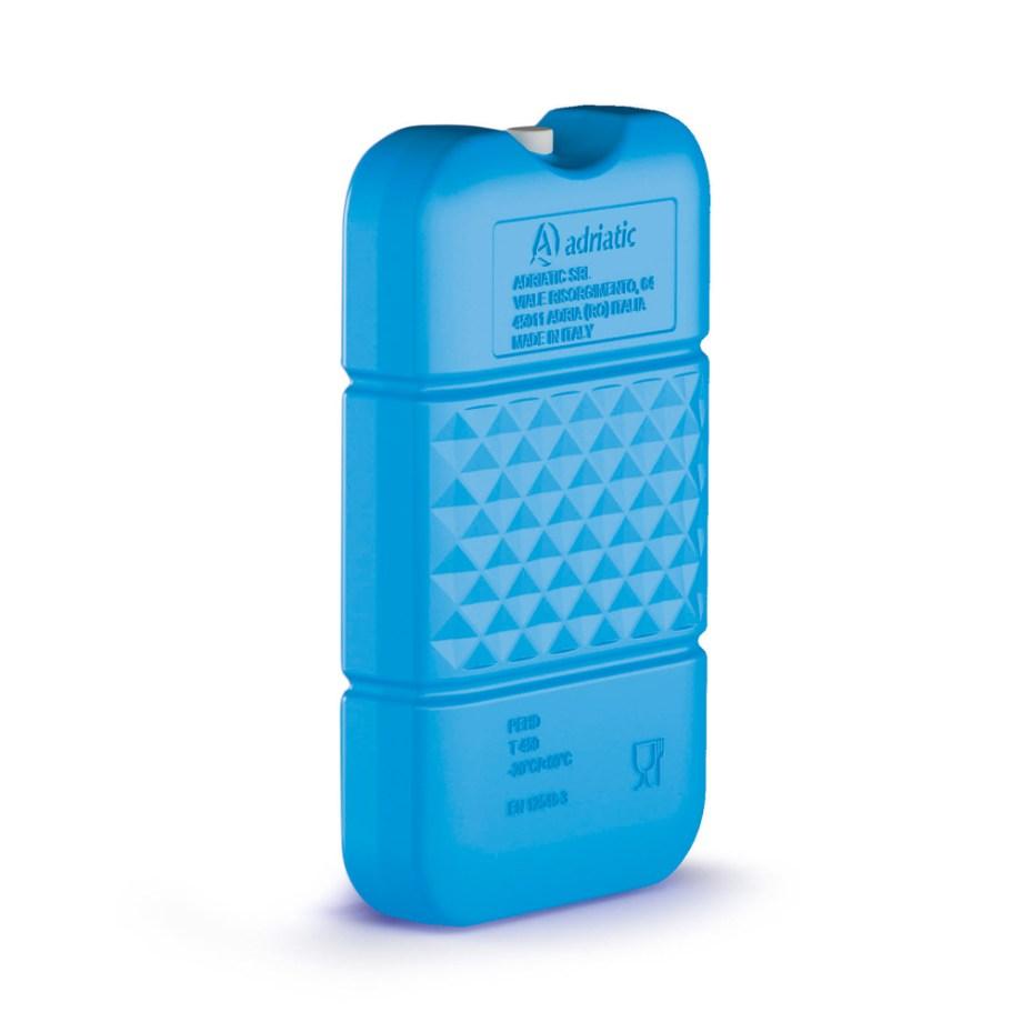 Uložak za hlađenje, za frižidere 0,45L. Ovaj uložak za led idealan je za održavanje svježim i hladnim vaše namirnice na putovanju ili plaži. Uložak se zamrzne u zamrzivaču i ubaci u frižider ili termos torbu sa namirnicama kako bi ostale hladne i svježe.