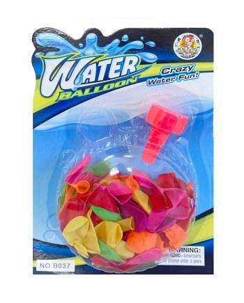 Baloni za vodu, Vodeni baloni sa lijevkom, 80 komada. U pakiranju se nalazi 80 balona i lijevak. Savršena igračka za ljetne, vruće dane.