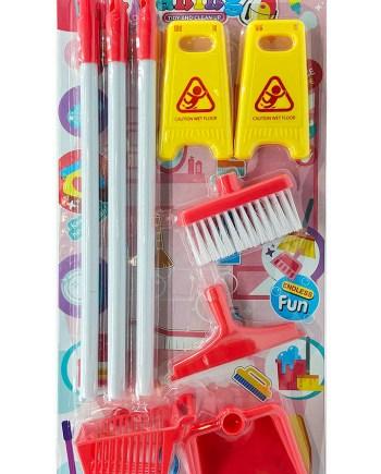 Dječji set za čišćenje kuće, Set za čišćenje Cleaning. Set za održavanje čistoće kuće. Neograničena zabava i smijeh zajamčeni su sa ovim setom za čišćenje.