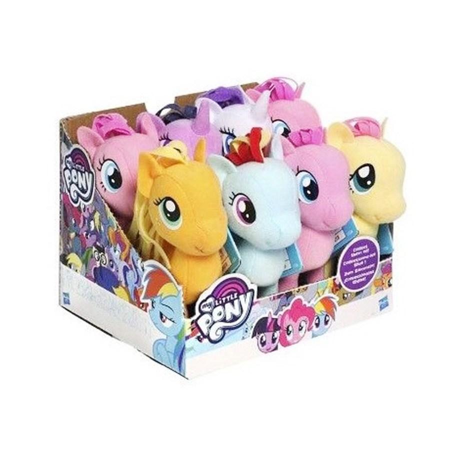 Pliš My Little Pony 13cm, plišanac My little Pony, 6 različitih. Popularni likovi iz animiranog filma My little pony u plišanoj verziji visine 13 centimetara.