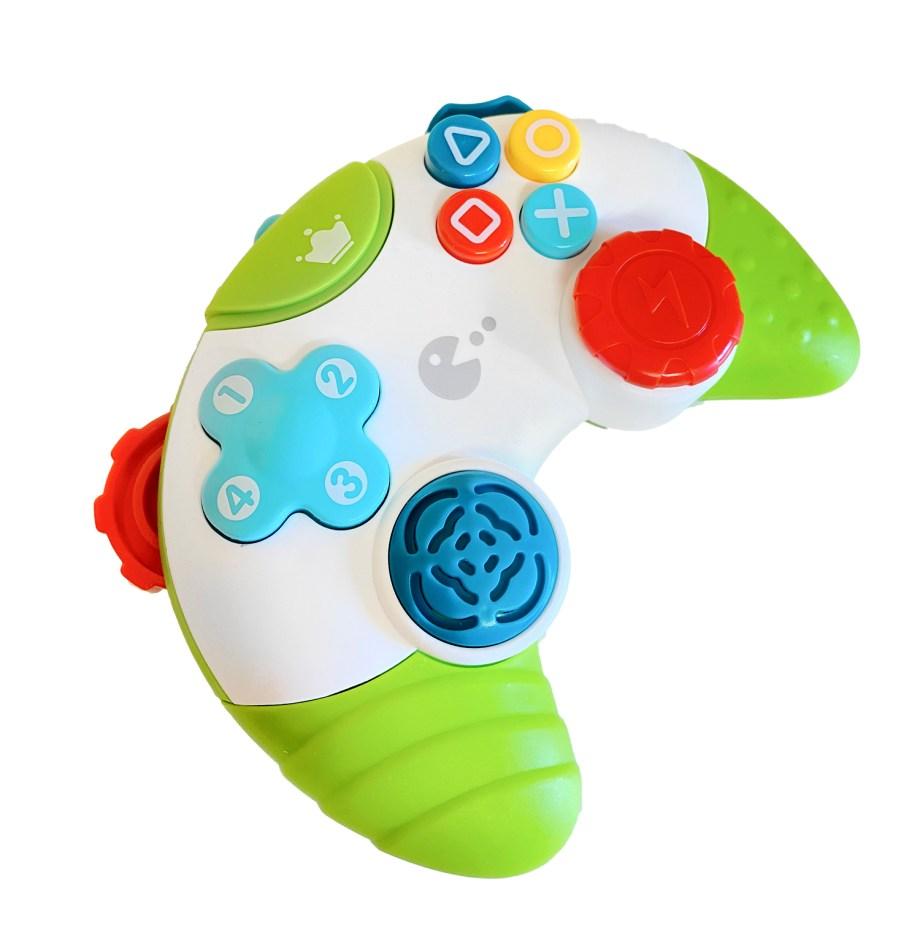 Igračka Joystick za bebe, Didaktična igrača palica. Ova simpatična, vesela igračka za bebe razvija kod male djece sva osjetila.