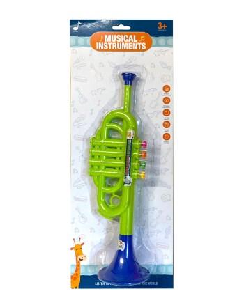 Truba plastična, Dječja truba, muzički instrument. Za svu djecu koja vole muziku i muzičke instrumente.