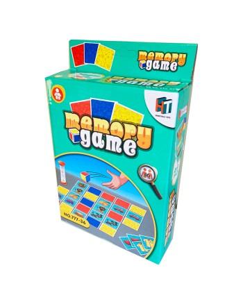 Igra memory, 30 kartica na životinje. Klasična društvena igra memorije za cijelu obitelj sa 30 kartonskih pločica, za 1 ili više igrača.