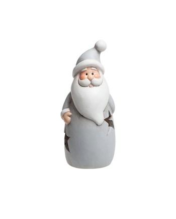 Keramički božićni likovi sa svjetlom, na baterije. Prekrasne božićne figure, 4 modela visine cca. 15 centimetara.