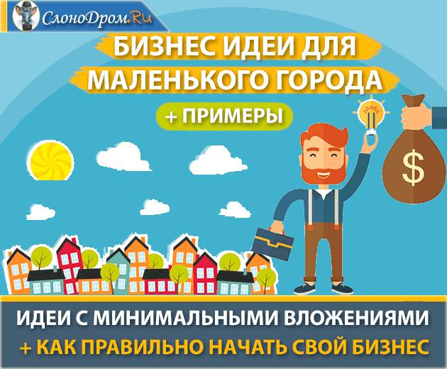 ТОП-30 лучших бизнес-идеи для маленького города с примерами f571ddb0b3f