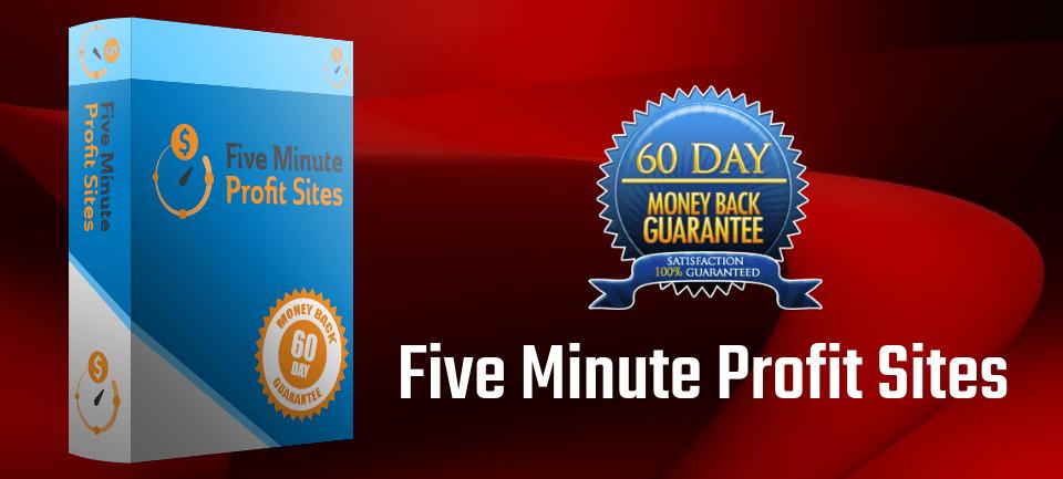 Five Minute Profit Sites Discount