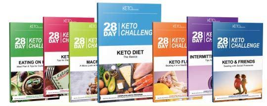 Download 28 Day Keto Challenge PDF Cookbook