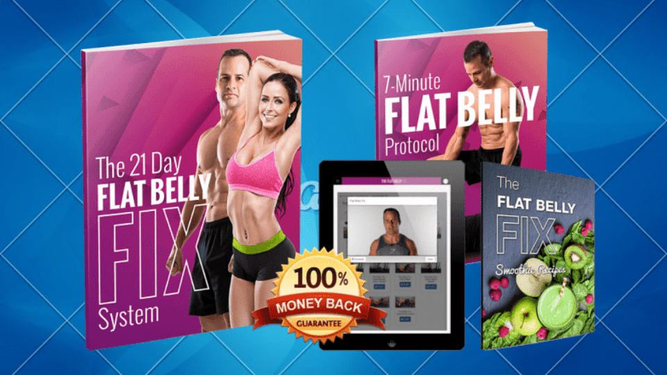 The 21 Day Flat Belly Fix by Todd Lamb