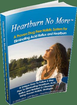 Jeff Martin Heartburn No More Reviews
