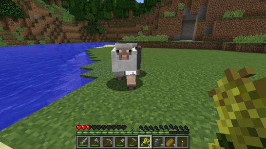 minecraft_羊を誘う男